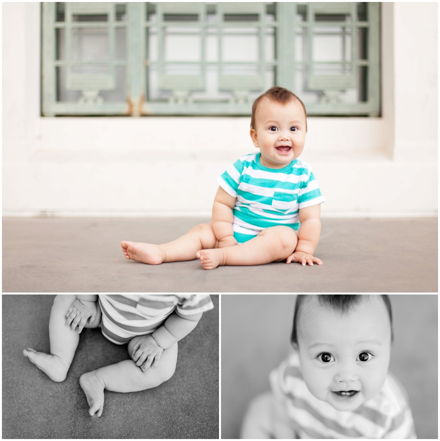 Baby S 8 Month Portraits at Griffith Observatory  Babys First Year  Just Maggie Photography