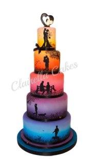 Tarta de boda_clairella cakes