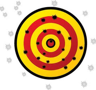 Scatter gun approach