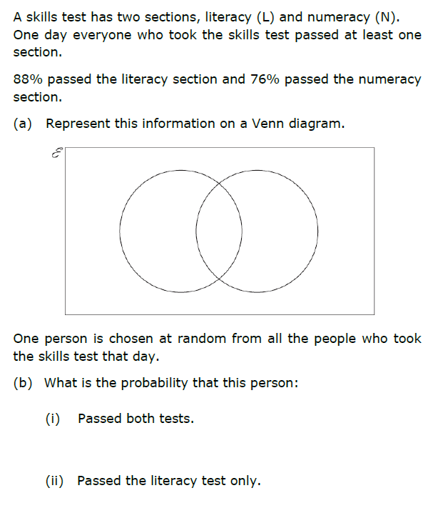 Venn Diagram Test Ks3 - Wiring Diagram Services •