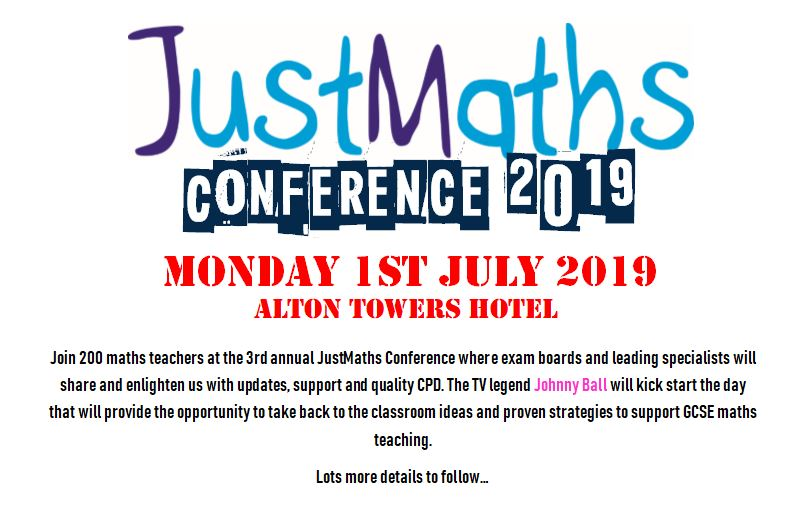 JustMaths Conference 2019