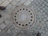 Munich manhole cover