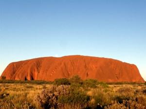 Uluru in the afternoon