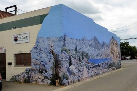 Exeter corner mural