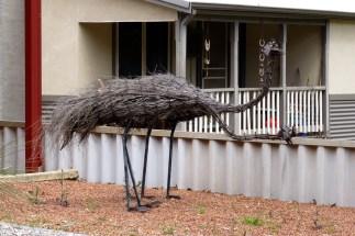 Emu garden ornaments