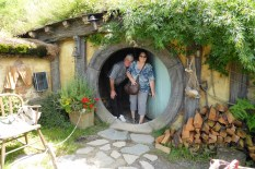 Inside a hobbit-hole