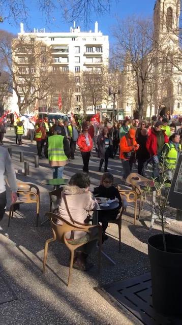 Nimes protest