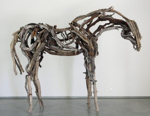 Deborah Butterfield Horse Sculpture