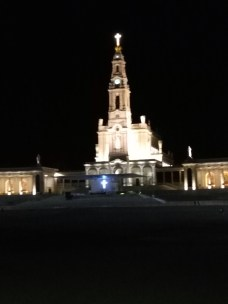 The Holy Rosary Basilica, the site of the apparition of the Blessed Virgin Mary to the three young shepherds namely: Blessed Francisco, Jacinta, and Sr. Lucia in Fatima, Portugal