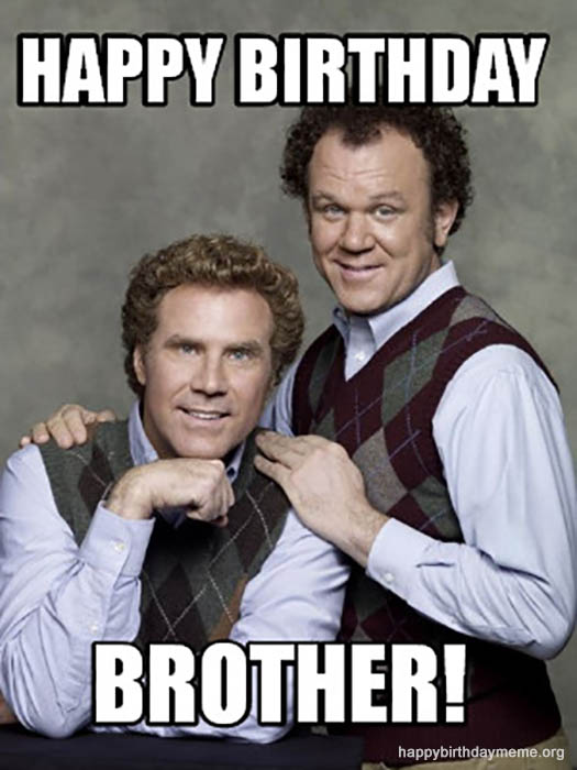Funny Brother Birthday Meme : funny, brother, birthday, Funniest, Happy, Birthday, Brother