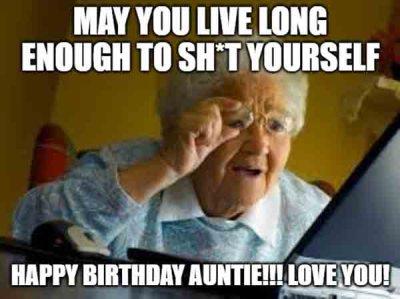 Happy Birthday Aunt Meme