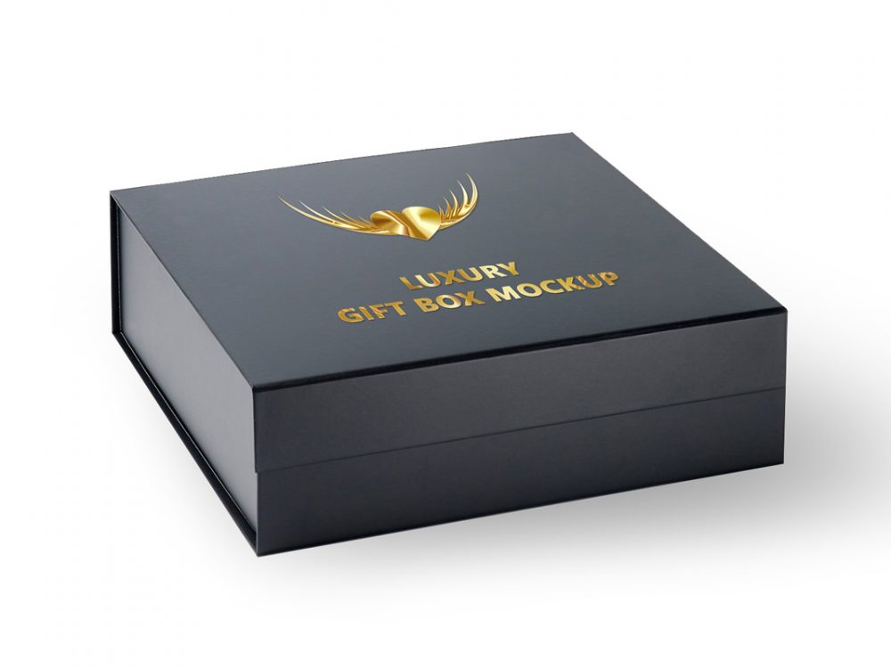 Download Free Gift Box Mockup Download 2020 - JustMockup