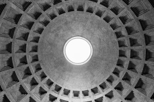 Roof of the Pantheon
