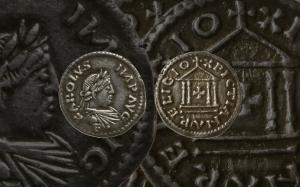 French Carolingian Denar of Charlemagne 800-814 AD