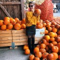Pumpkin shopping at Juckerfarm, Switzerland