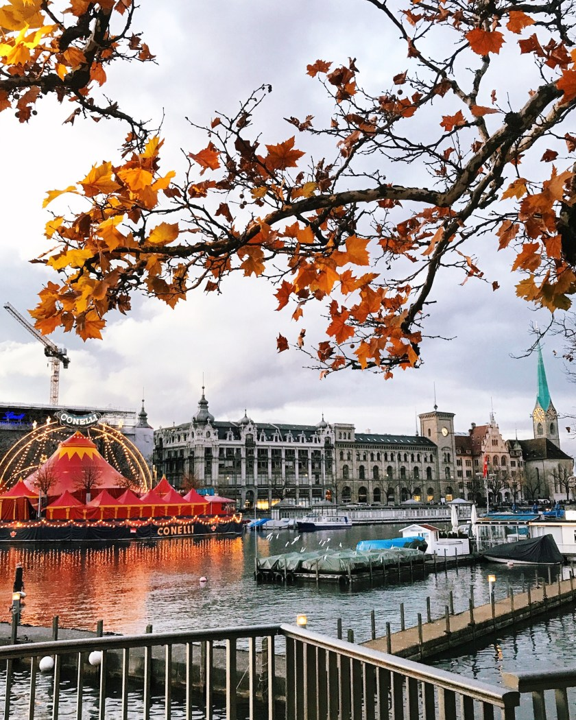 Fall in Zurich