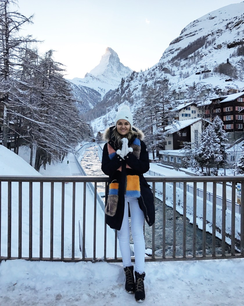 First time in Zermatt