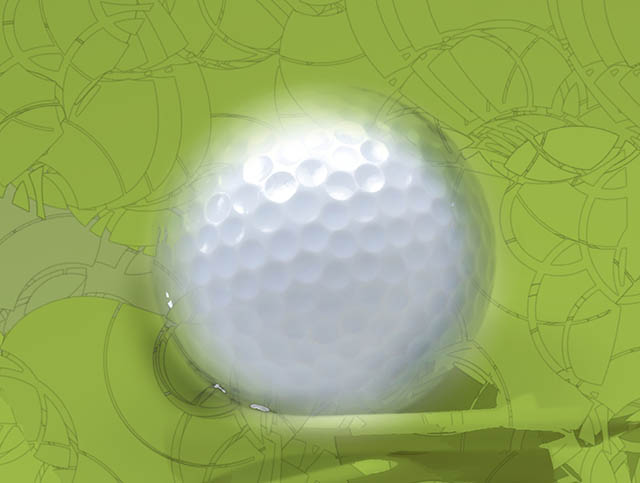 Image of a golf ball