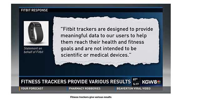 image of fitbit response