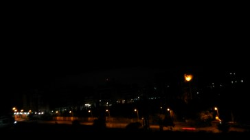A Night view : Theres something which makes me love this picture