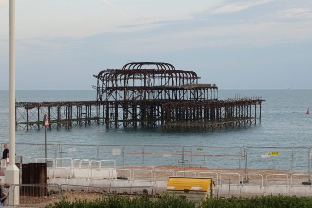 west pier brighton view from alfresco