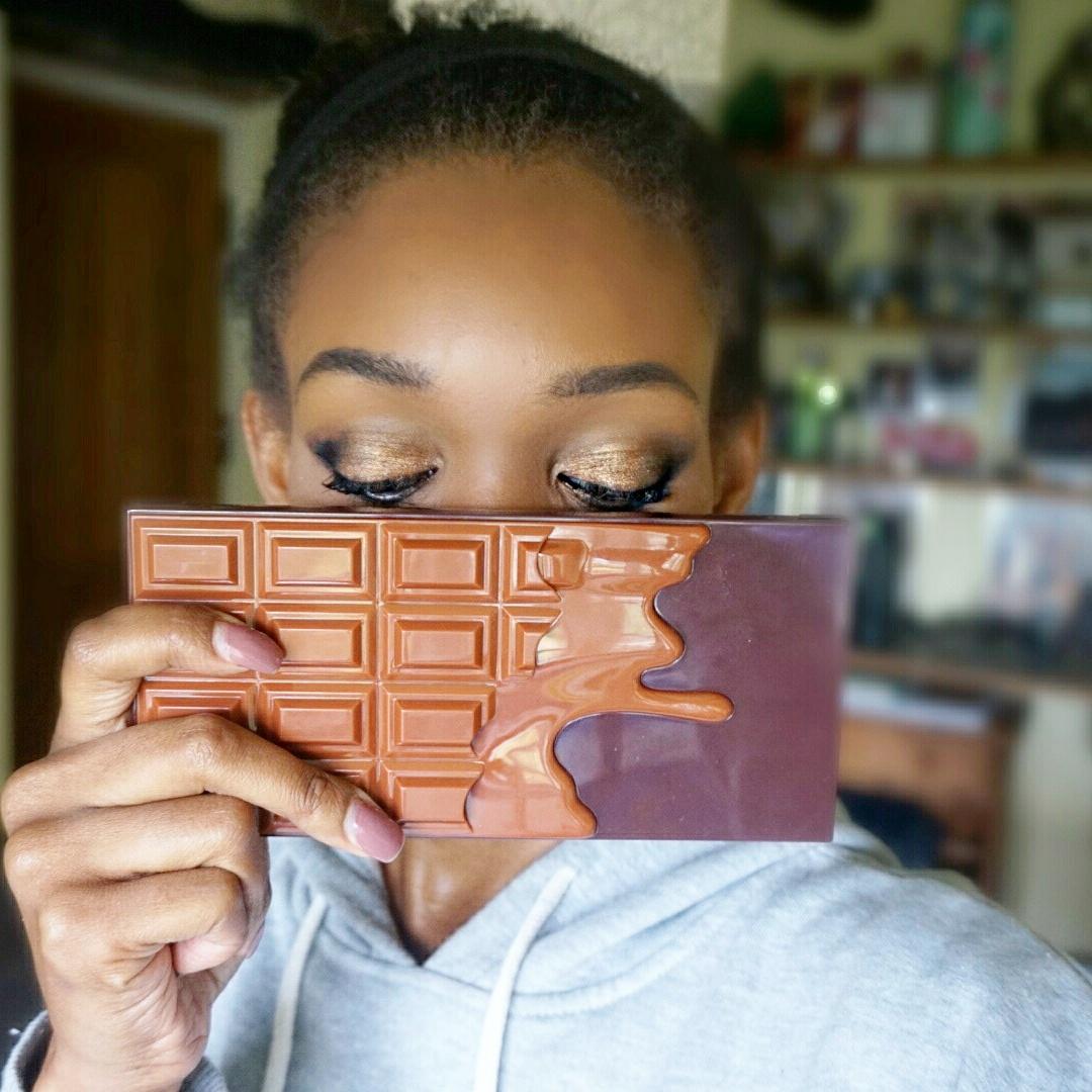 I Heart Chocolate Salted Caramel palette – I Heart Makeup