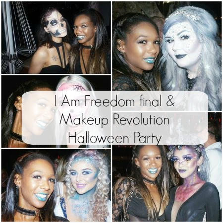 I am Freedom final & Makeup Revolution Halloween Party