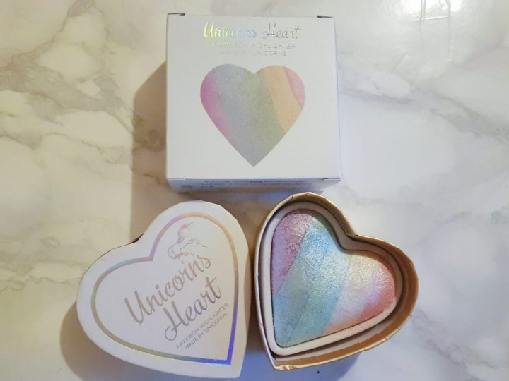 Review – Unicorns Heart highlighter