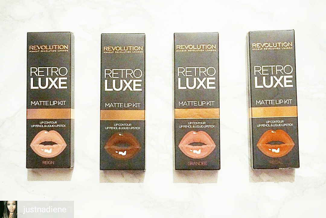 Reign, Glory, Grandee, Regal RetroLuxe Lip Kits