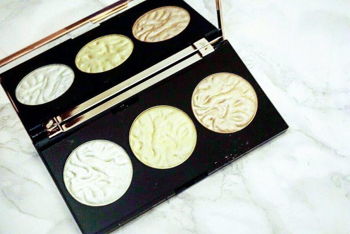 Strobe lighting palette makeup revolution