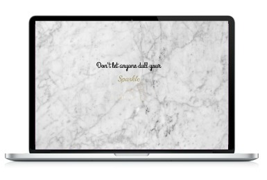 laptop art dont let anyone dull your sparkle JustNadiene