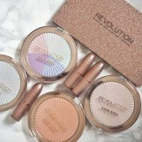 Makeup Revolution new Life on the Dance Floor - Guest List Collection & Skin Kiss Highlighters