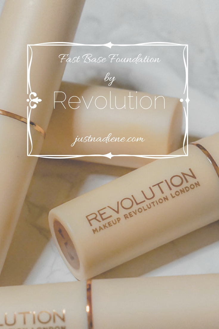 Fast Base foundation - I finally got my hands on the new Revolution product