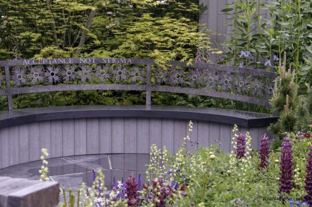 rhs chelsea cherub hiv garden