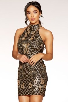 Quiz clothing black dress