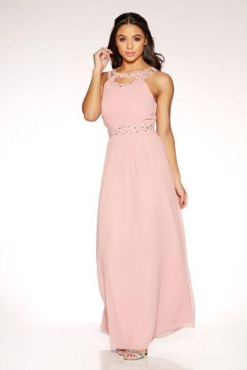 millenial pink dress