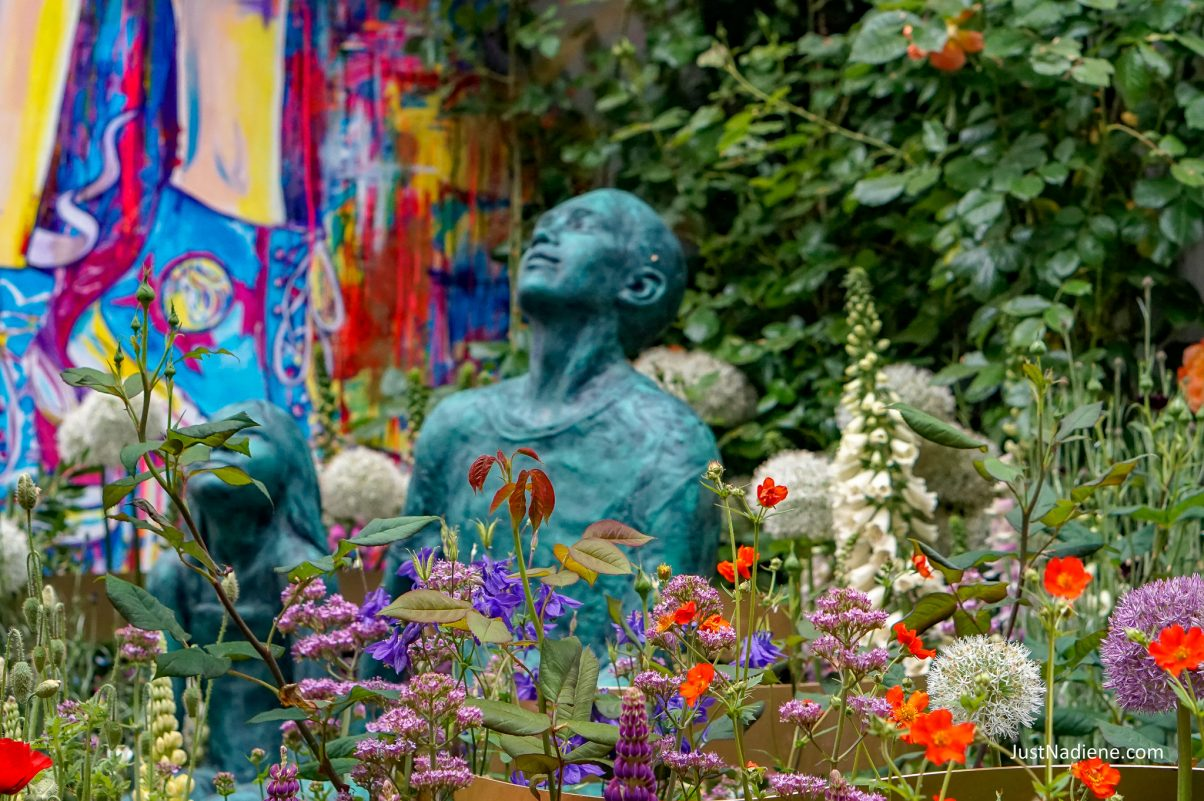 chelsea flower show supershoes laced with hope garden