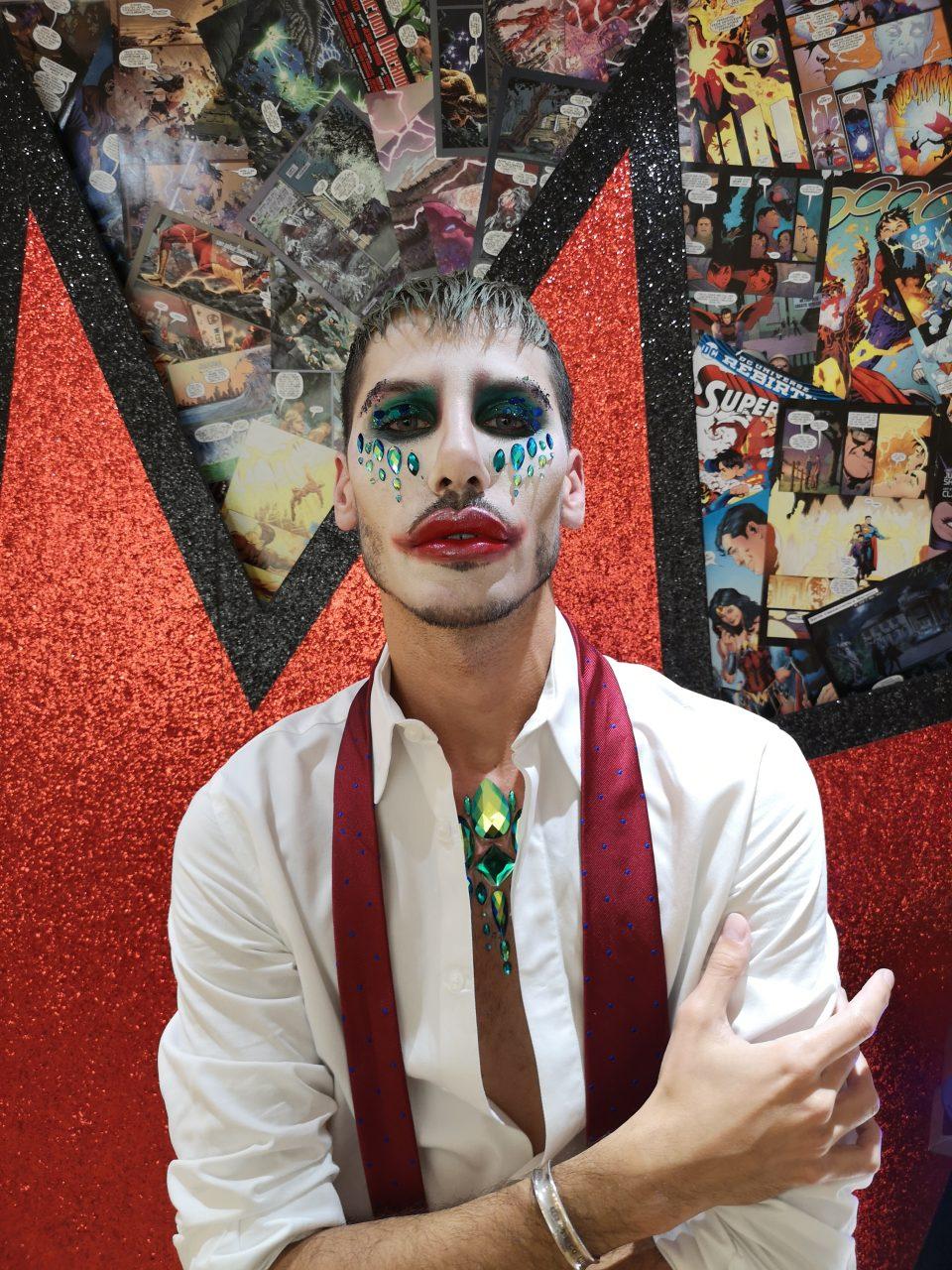 Joker Halloween look