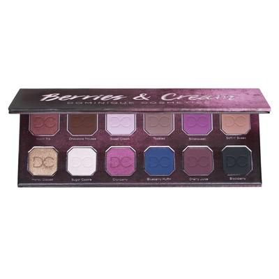 Dominique cosmetics berries and cream palette