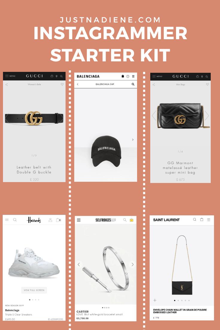 instagrammer starter kit