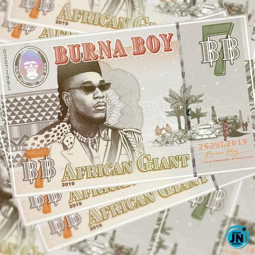 Burna Boy - Collateral Damage