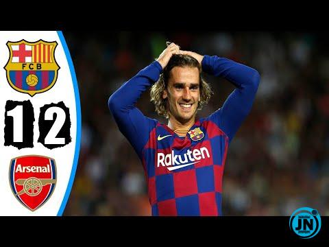 Barcelona vs Arsenal 2-1 – All Goals & Highlights