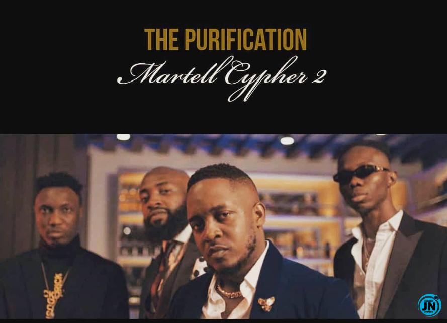 M.I Abaga – The Purification (Martell Cypher 2) ft. Blaqbonez, A-Q, Loose Kaynon