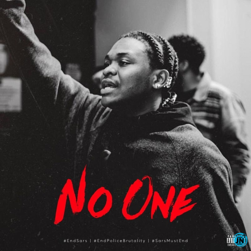 """Dice Ailes – """"No One"""" #EndPoliceBrutality"""