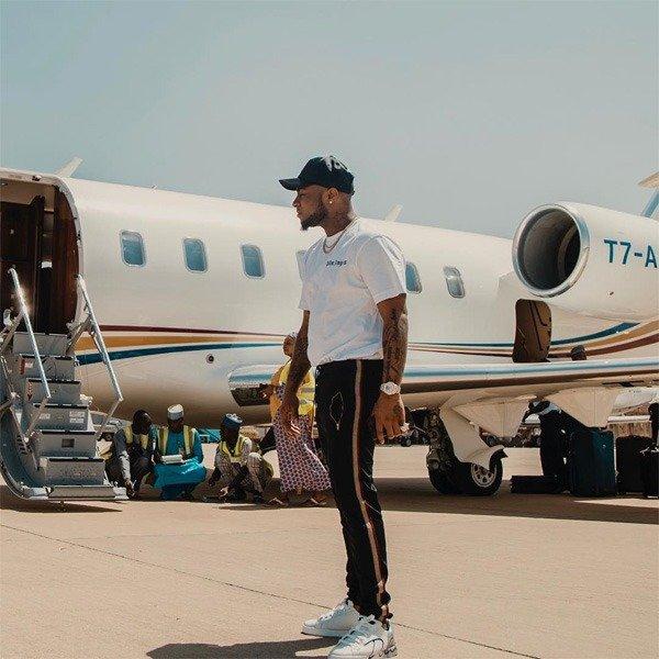 Owner of Davido Private jet