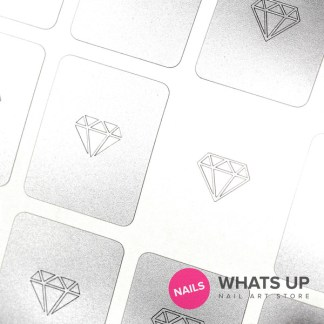 Diamond Gemstone Stickers & Stencils
