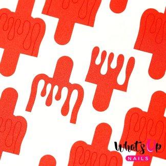 Dripping Stencils