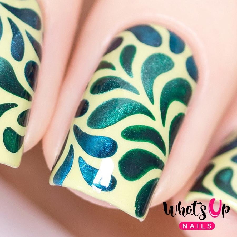 Floral Splash negle vinyler