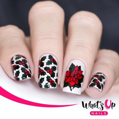 Deck the Nails stamping