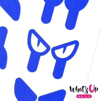 Cat Eyes Stencils - neglevinyl med katteøjne